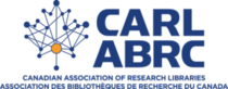 Canadian association of research libraries logo