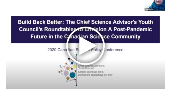 A screenshot of a presentation slide with the title of the panel