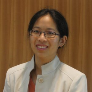 a photo of an asian woman in glasses