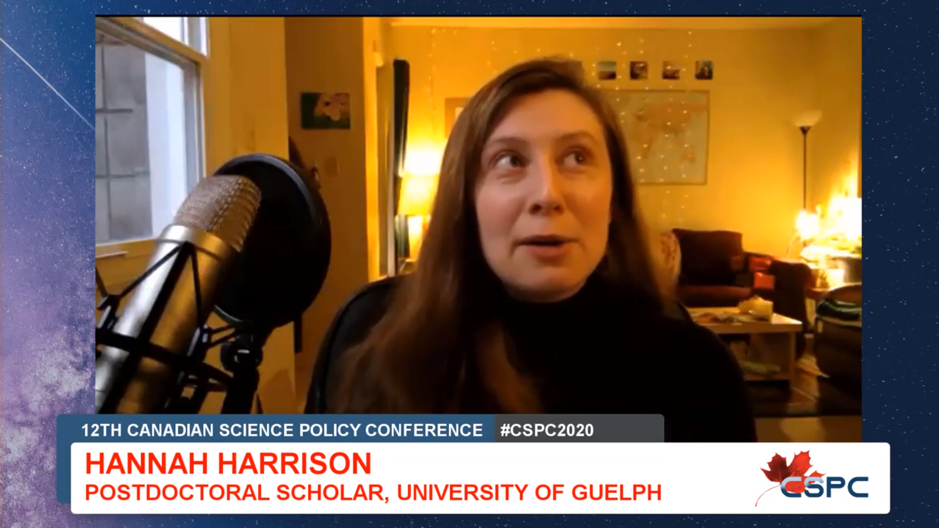 youtube screenshot of an interview, with a white woman on camera